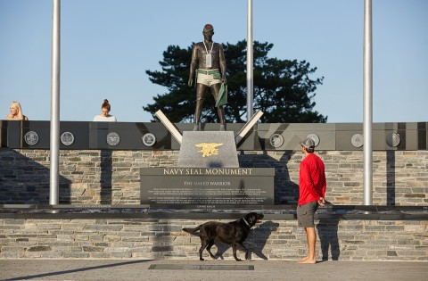 Navy Seal Monument 1